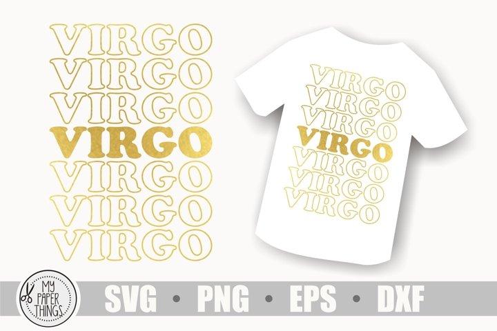 Virgo Zodiac sign svg, Birthday svg, Horoscope svg