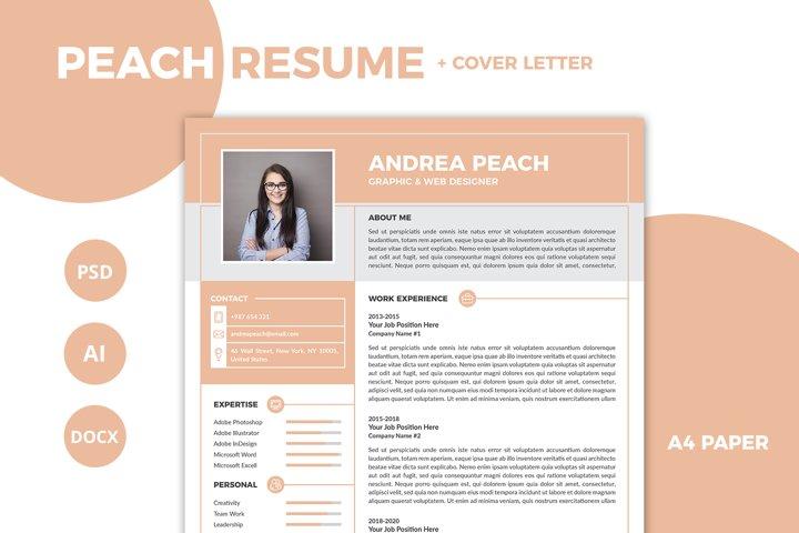 Peach Resume / CV