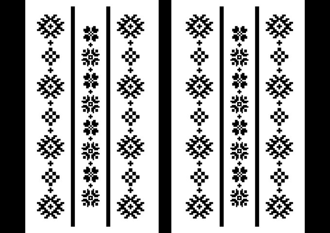 Romanian Traditional Motives