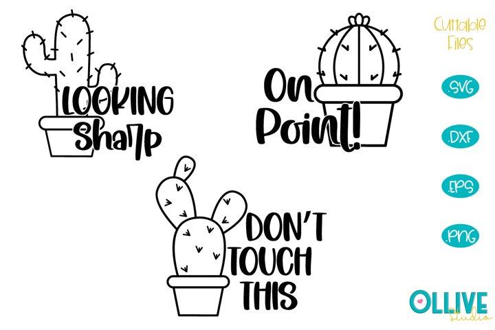 Cactus Quotes SVG Bundle