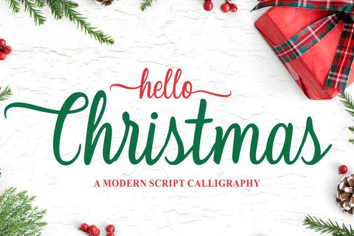 Christmas - Modern Calligraphy