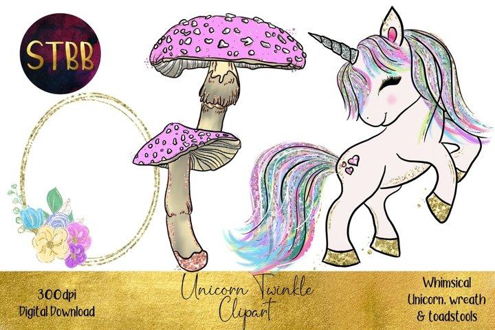 Unicorn Twinkle Clipart