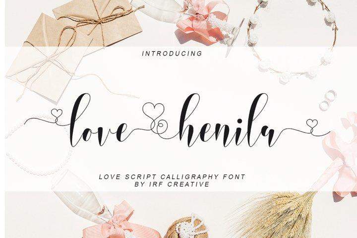 love henila