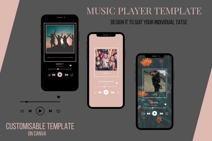 Canva - Music Player Template