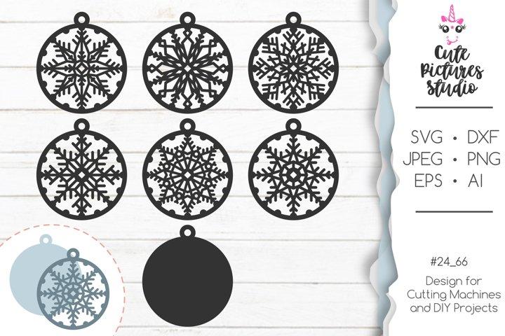 Christmas ornaments Cricut SVG bundle, Christmas SVG eps dxf