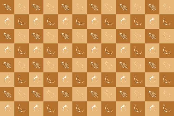 food and fruits seamless patern for packaging or backdrop 23