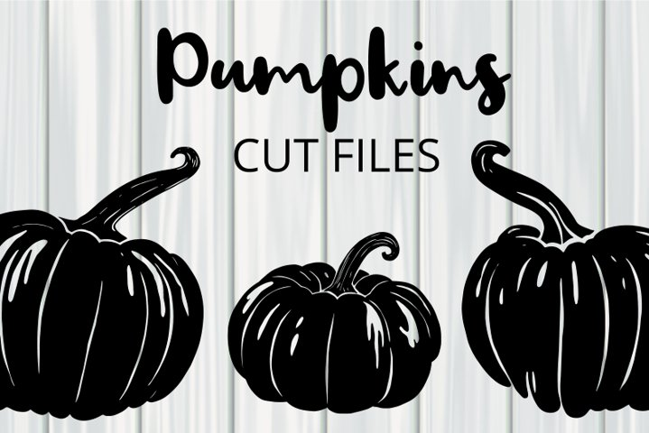 Seasonal Autumn Fall Pumpkin Cut Files