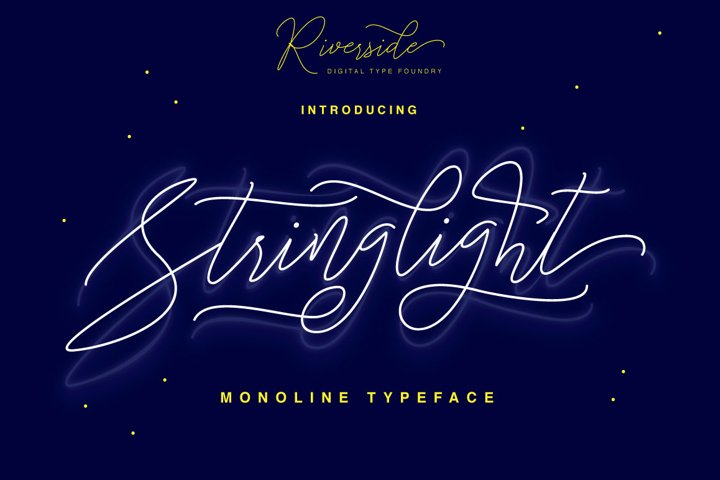 Stringlight Typeface - Free Font of The Week Font