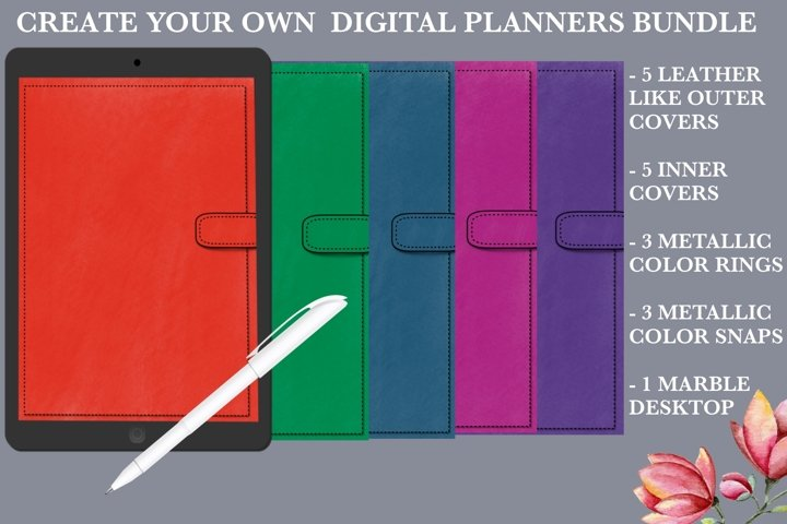 Create Your Own Digital Planners Bundle