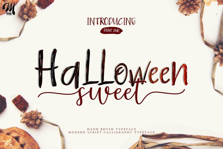 Halloween Sweet Font Duo