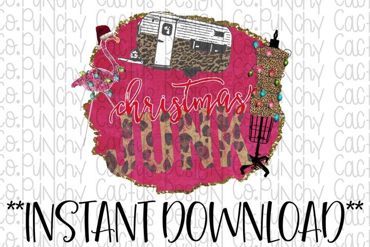 Christmas Junk Sublimation Download, Christmas