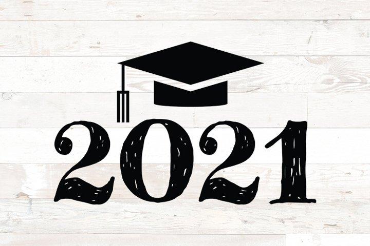 2021 Graduation Cap svg png dfx jpg