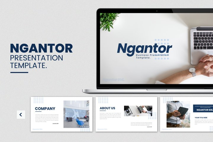 Ngantor - Business Google Slides Template