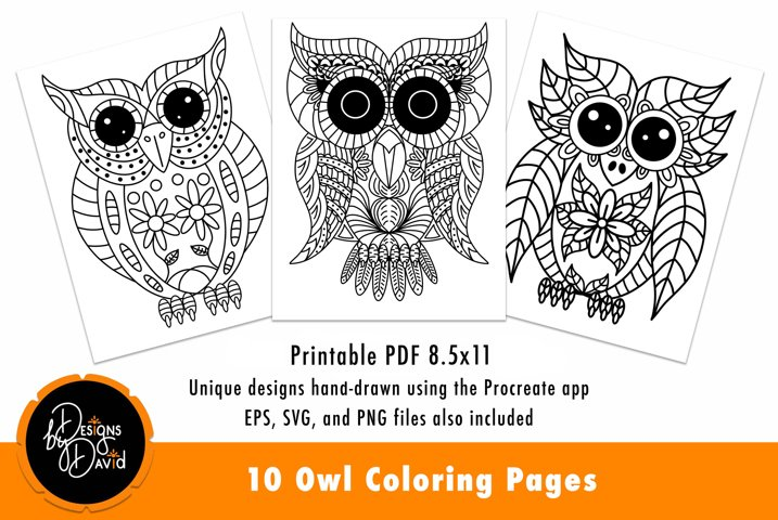 12 Fall Coloring Pages for Adults {Free Printables ... | 480x717