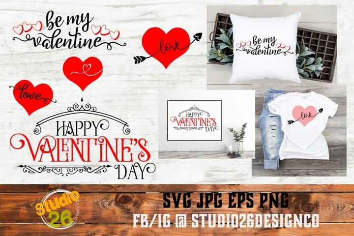 Valentine Bundle - SVG PNG EPS