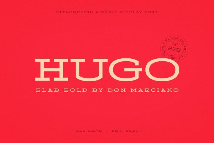 Hugo Slab Serif Bold