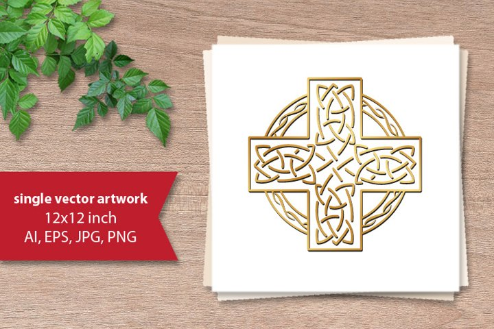 Simple Celtic Border- single vector artwork