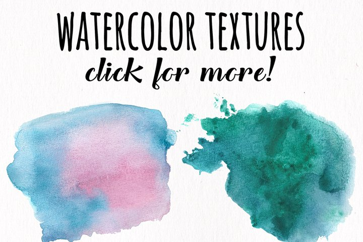 Watercolor Textures - card edition - Free Design of The Week Design12