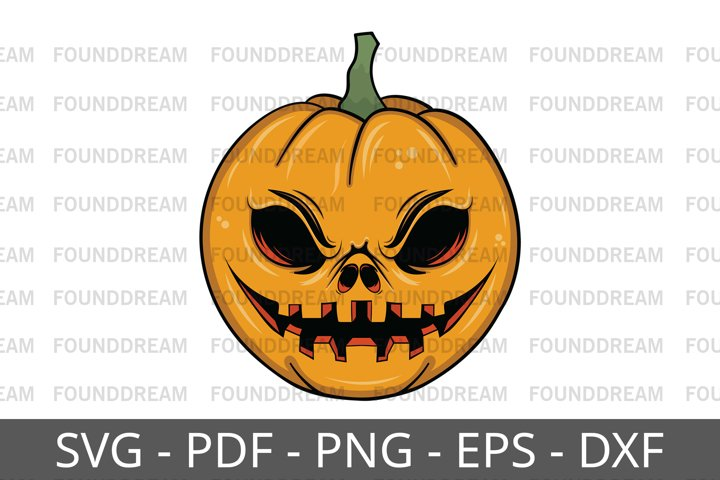 Halloween Pumpkin Head| Vector files
