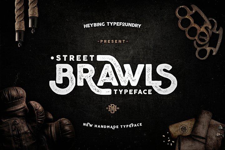 Brawls Typeface  Bonus