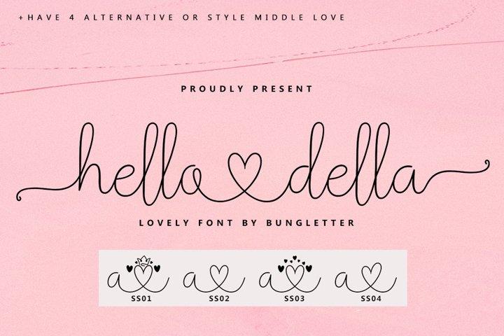 hello della - script lovely
