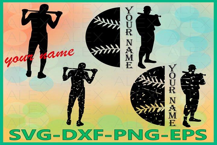 Baseball SVG, Distressed Baseball Svg Files, Print Files