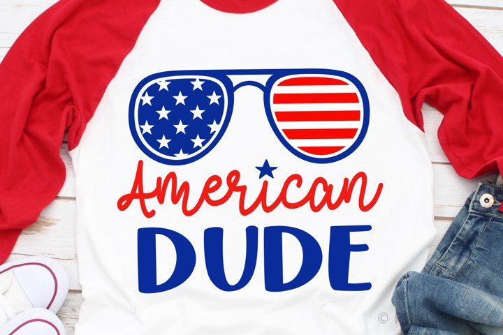 American Dude SVG, DXF, PNG, EPS
