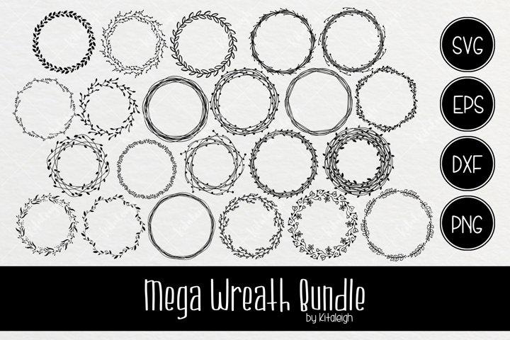 Mega Wreath Monogram Bundle