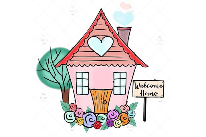 Home Sweet Home Bundle PNG