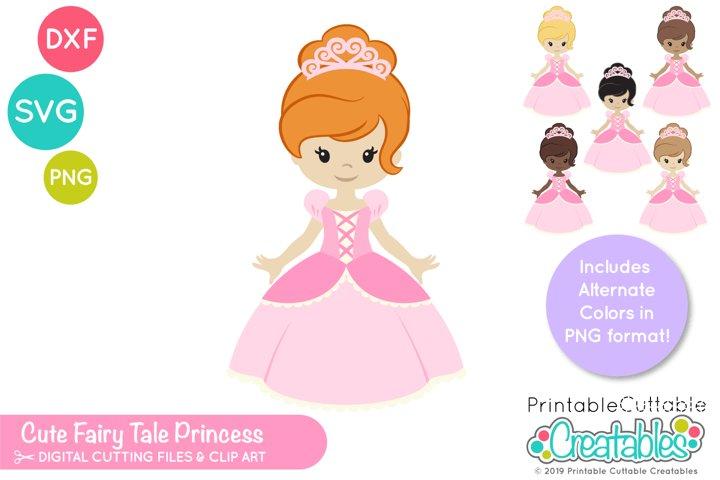 Fairy Tale Princess SVG