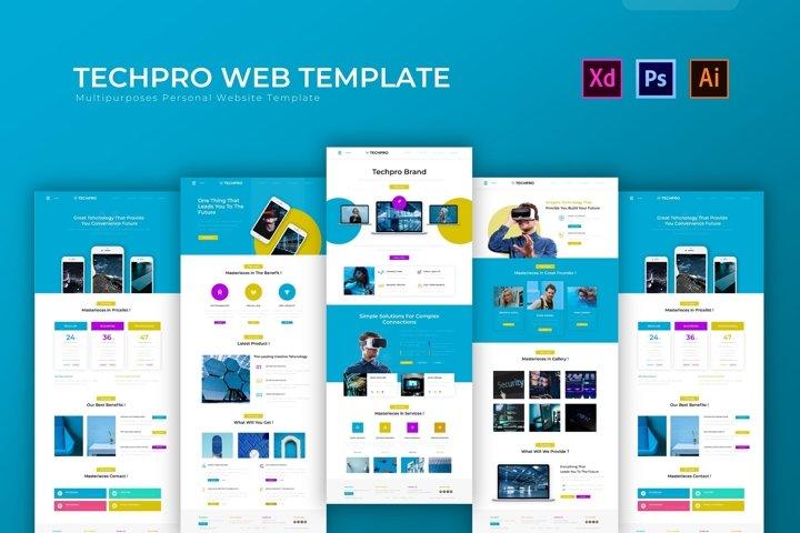Techpro   Web Template