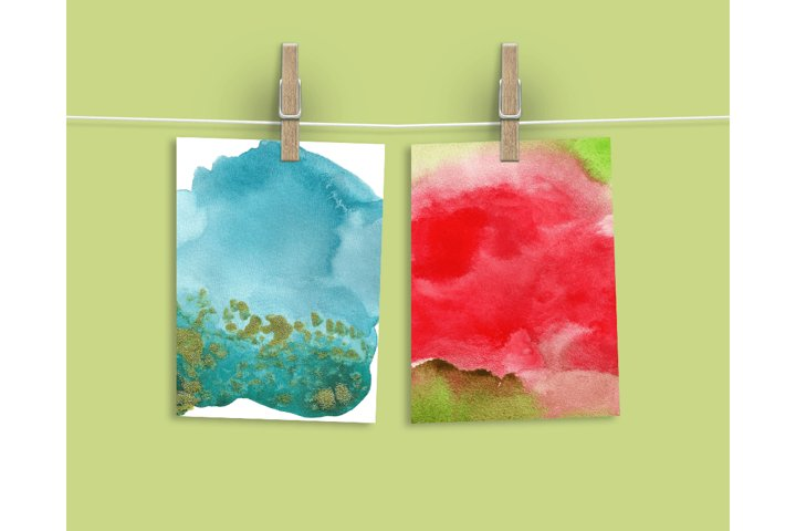 Watercolor Textures - card edition - Free Design of The Week Design5