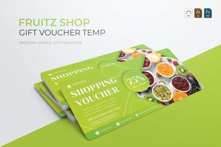 Fruits Shop | Gift Voucher