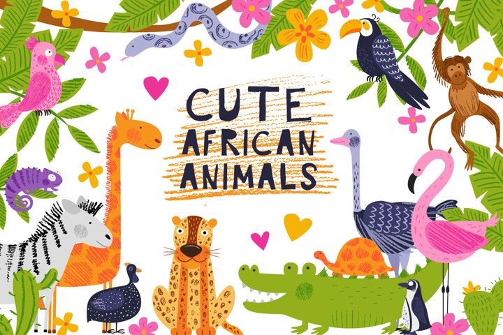 Cute African animals