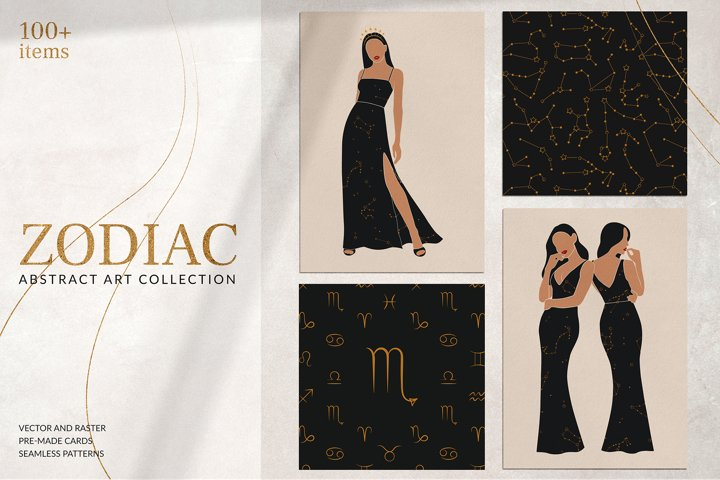 Abstract Zodiac Collection