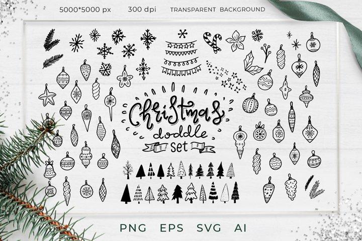 Christmas BUNDLE Svg, clip-art,silhouettes SVG Cut File