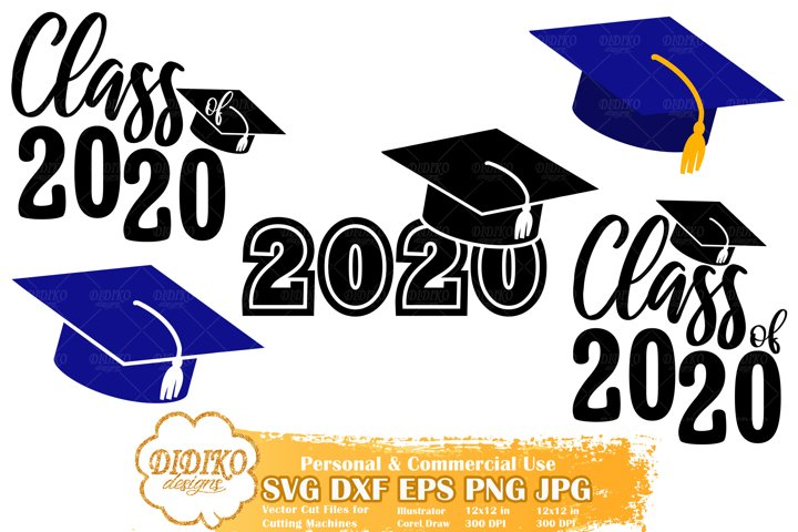Class of 2020 Bundle | Graduation Bundle SVG | Senior 2020