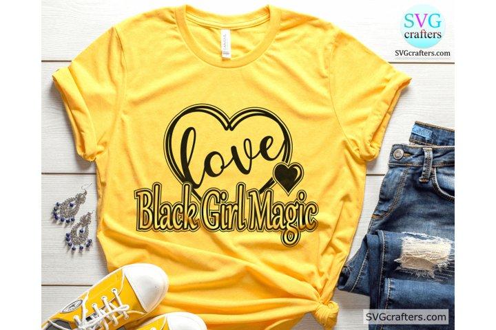 Black Girl Magic svg, Young Black and Dope SVG, Melanin svg
