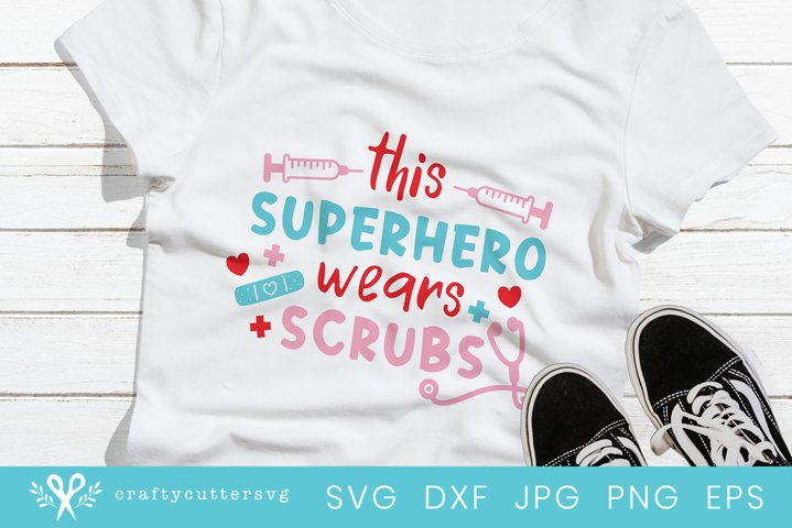 Superhero Quote Svg File| Healthcare Workers Support T-Shirt