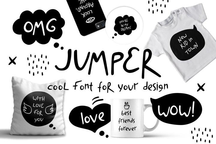 Jumper - Cool Font