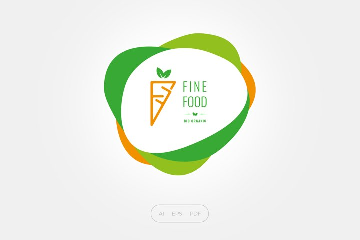 Fine Food Bio Organic Logo