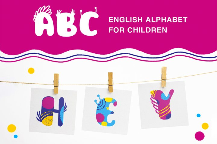 English Alphabet For Children