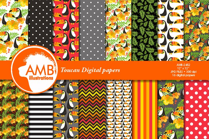 Toucan Digital Papers AMB-2452