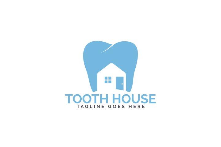 Tooth House Logo Design.