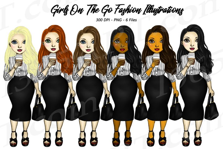 Business Woman Clipart Girl Boss Clipart Fashion PNG