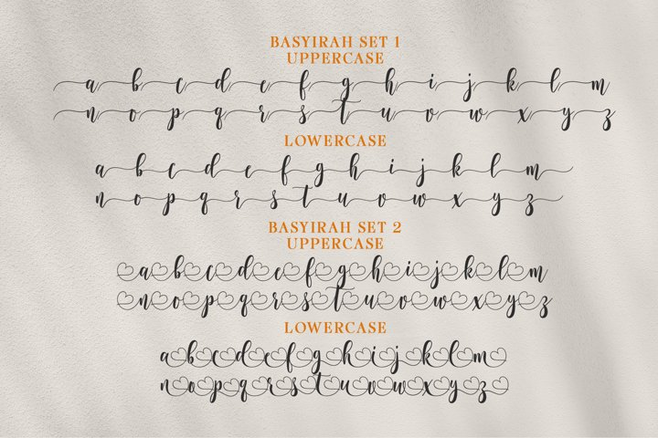 Basyirah Script example 8