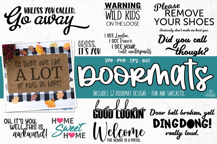 Doormat Craft Bundle - Fun DIY Doormat Designs
