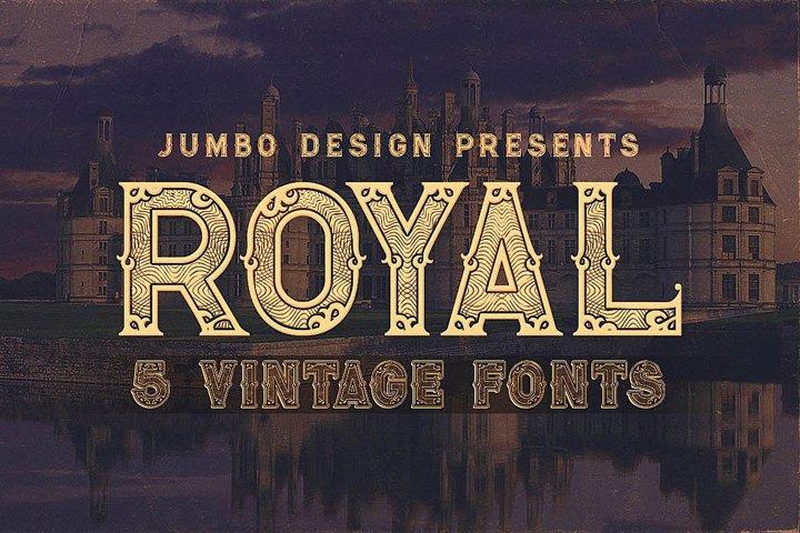 Royal - Vintage Style Font