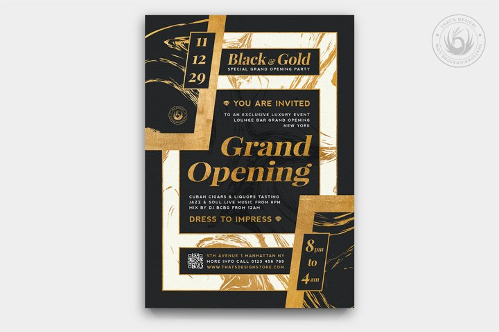 Grand Opening Flyer Template V3