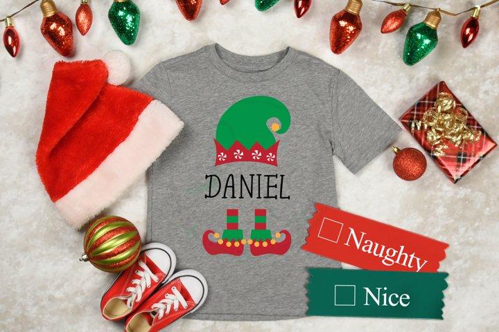 Christmas Boy Elf SVG